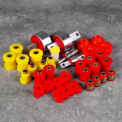 Deuter zestaw poliuretanów Civic CRX 90-91 EE8 EE9 czerwony