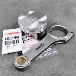 Zestaw kutych tłoków i korb Wiseco Saenz K24 87,5mm 11.1:1