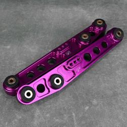 Skunk2 Style LCA Civic 5gen 92-95 wahacze tylne dolne purpurowe