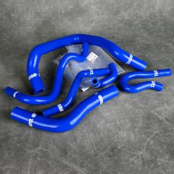 Turbo Works węże chłodnicy Civic 5gen 6gen D16 niebieskie