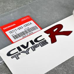 OEM emblemat naklejka Civic TypeR Civic 6gen EK9