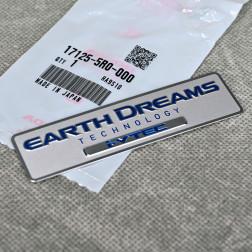 OEM emblemat Earth Dreams Technology i-VTEC 100x27 mm